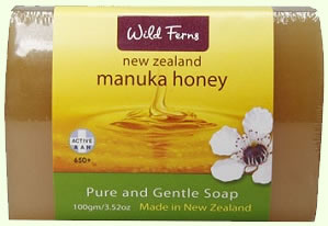 New Zealand Manuka Honey Soap